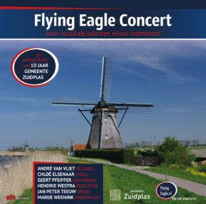 Voorkant nieuwe CD Flying Eagle Concert